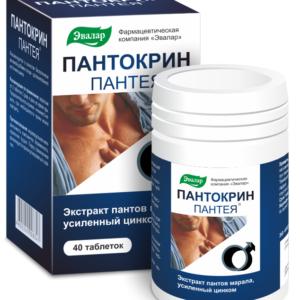 Пантокрин Пантея, 40 таблеток, Эвалар