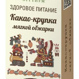 Какао крупка мягкой обжарки, 100 гр, Оргтиум