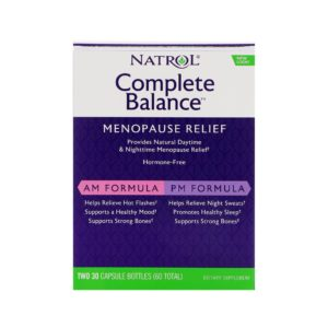 Complete Balance for menopause, AP/PM, 60 капсул, Natrol