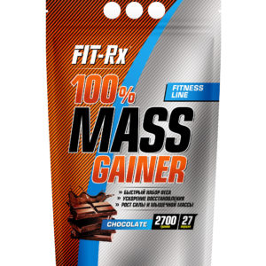 100% Mass Gainer, вкус шоколад, 2700 гр,  Fit-Rx
