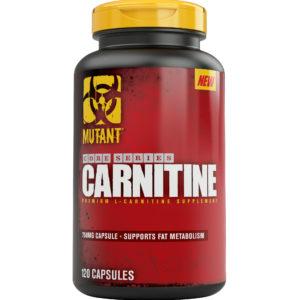 Carnitine 850 мг, 120 капсул, Mutant