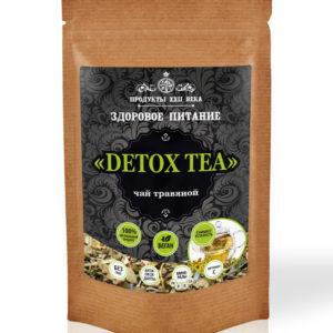 Detox Tea, чай травяной, дойпак 100 гр, Продукты XXII века