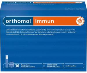 Иммун, бутылочки и таблетки, 30 доз, Ортомол