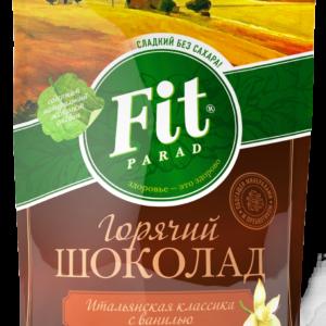 Горячий шоколад со вкусом ванили, 200 гр, Fit Parad