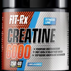 Creatine 6000, 250 гр, Fit-Rx