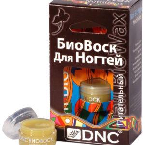 Биовоск для ногтей питательный, 6 мл, DNC