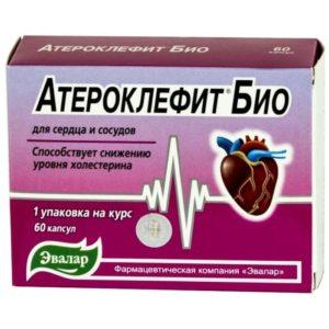 Атероклефит Био, 60 капсул, Эвалар