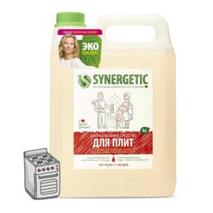 Антибактериальный гель для очистки кухонных плит, 5 л. Synergetic