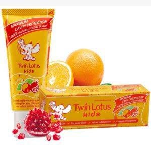 Детская зубная паста «Апельсин и гранат», 50 гр, Twin Lotus