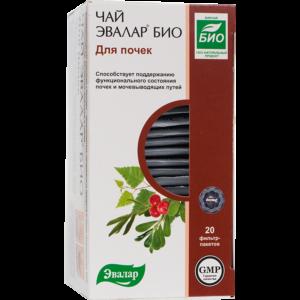 Чай Эвалар БИО для почек, 20 фильтр-пакетов, Эвалар